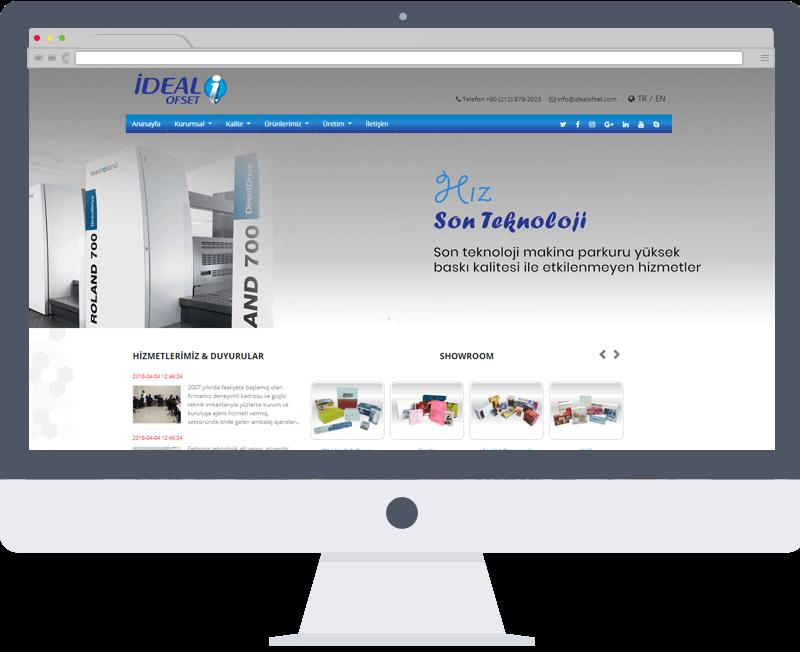 İdeal Ofset Web tasarım