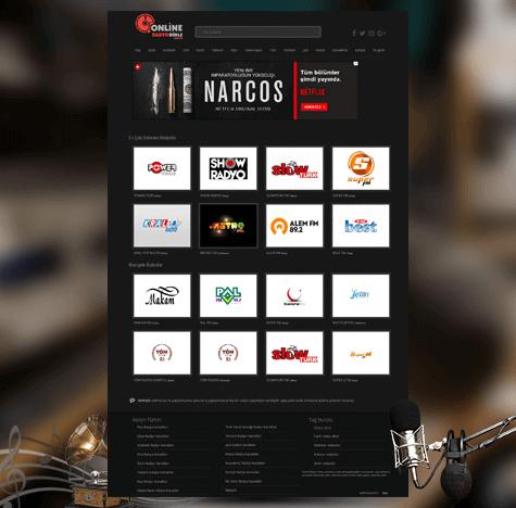 Online Radyo Dinle Web Tasarımı ve SEO Optimizasyonu